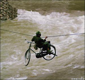 Bikeoverwater